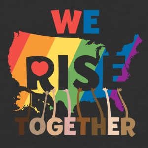 WE RISE TOGETHER - Baseball T-Shirt