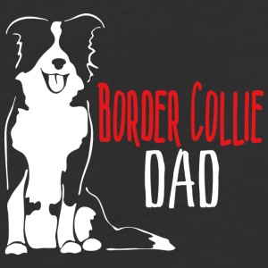 Border Collie Dad - Baseball T-Shirt