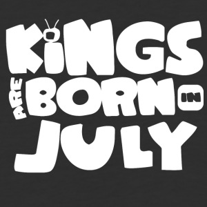 KINGS ARE BORN IN JULY - Baseball T-Shirt