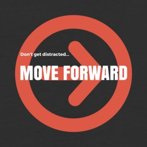 Move Forward - Baseball T-Shirt
