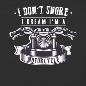 I Don't Snore I Dream I'm a Motorcycle T Shirts - Baseball T-Shirt