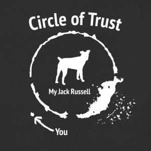 Funny Jack Russel shirt - Circle of Trust - Baseball T-Shirt
