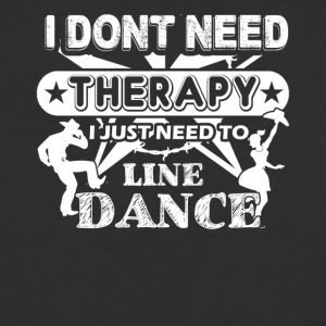 Line Dance Therapy Shirts - Baseball T-Shirt