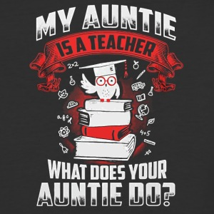 My Auntie is a Teacher shirt - Baseball T-Shirt