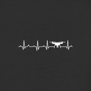 Drone Heartbeat x Frequency - Baseball T-Shirt