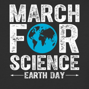 march for science - earth day - Baseball T-Shirt