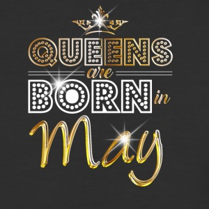 Queens are born in May - Gold - Baseball T-Shirt