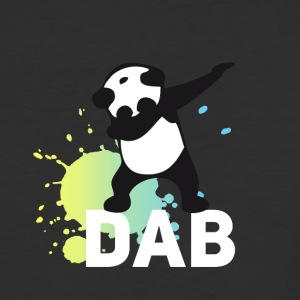 dabbing football touchdown mooving dance panda - Baseball T-Shirt