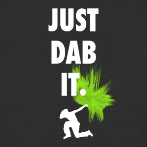 just dab it DAB panda dabbing football touchdown - Baseball T-Shirt