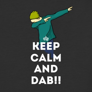 keep calm dab dabbing football touchdown LOL - Baseball T-Shirt