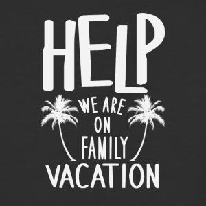 Help We Are On Family Vacation - Baseball T-Shirt
