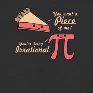 Want A Piece Of Me Pi Vs Pie - Baseball T-Shirt