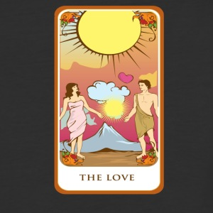 The Love Tarot Card Tee Shirt - Baseball T-Shirt