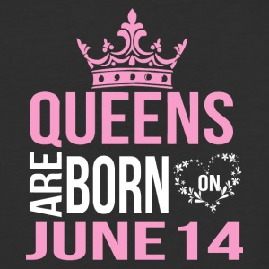 Queens are born on June 14 - Baseball T-Shirt