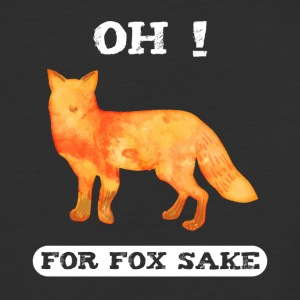 For Fox Sake - Baseball T-Shirt