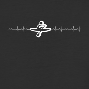 rowing heartbeat - Baseball T-Shirt
