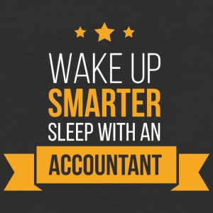 Wake Up Smarter Sleep With An Accountant T Shirt - Baseball T-Shirt