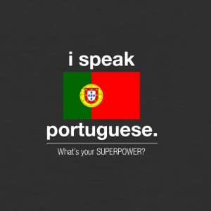 SUPERPOWER portuguese - Baseball T-Shirt