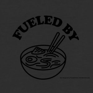 Fueled by RAMEN! - Baseball T-Shirt