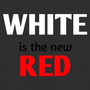 WHITE is the new RED - Baseball T-Shirt