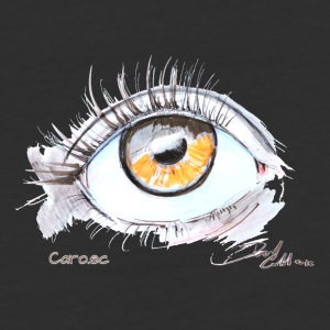 Caro.ec - Eye - Baseball T-Shirt