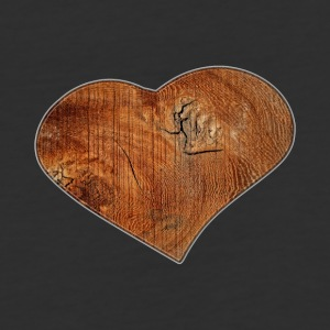 Wood_Heart_Isle | by Isles of Shirts - Baseball T-Shirt