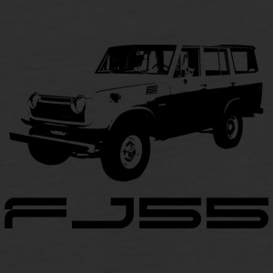 FJ55 BLACK LINE ART WITH LABEL - Baseball T-Shirt