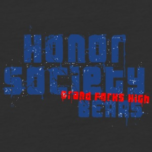 HONOR SOCIETY GRAND FORKS HIGH BEARS - Baseball T-Shirt