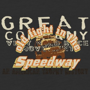 old fight in the speedway - Baseball T-Shirt