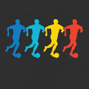 Soccer Pop Art - Baseball T-Shirt