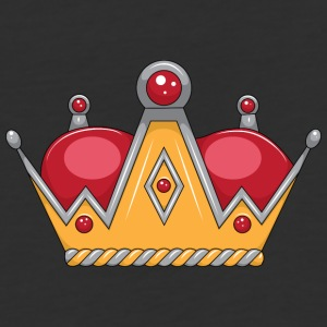 red gold crown - Baseball T-Shirt