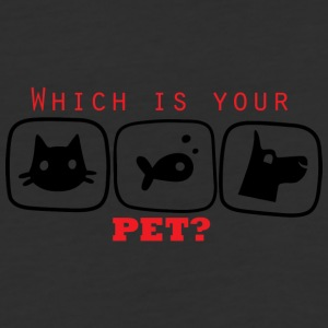 Which is you Pet - Baseball T-Shirt