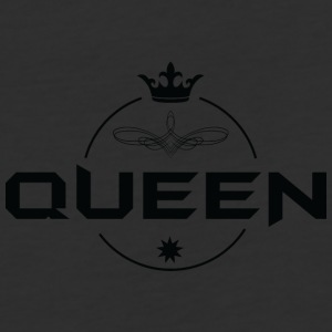 Queen black 2 - Baseball T-Shirt
