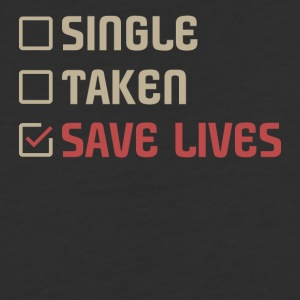 Single Taken Save lives - Baseball T-Shirt