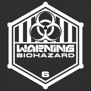 Warning: Biohazard - Baseball T-Shirt
