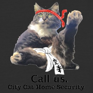 City Cat Security - Baseball T-Shirt