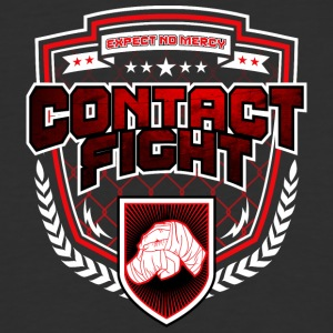 Contact Fight Knuckles - Baseball T-Shirt
