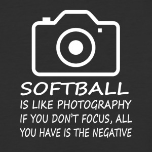 Softball Like Photography-cool shirt,geek hoodie - Baseball T-Shirt