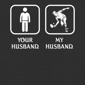 Husband Tennis Player Love- cool shirt,geek hoodie - Baseball T-Shirt