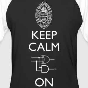 Keep Calm and Carry On T Shirt - Baseball T-Shirt