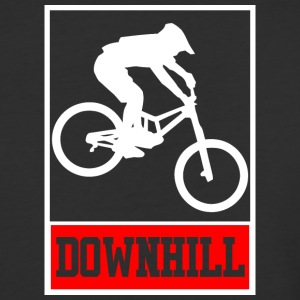 Downhill - Freerider - Baseball T-Shirt