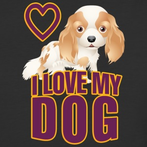 I love my dog 16 - Baseball T-Shirt