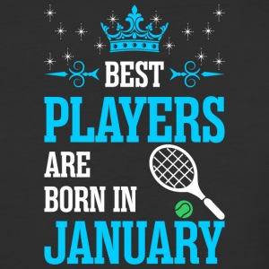 Best Players Are Born In January - Baseball T-Shirt