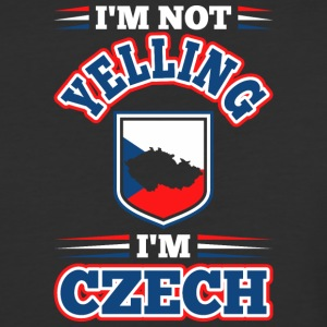 Im Not Yelling Im Czech - Baseball T-Shirt