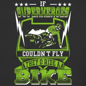 Superheoros Ride Mountainbikes - Baseball T-Shirt