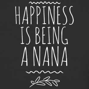 Happiness is being a Nana - Baseball T-Shirt