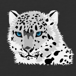 animal snow leopard - Baseball T-Shirt