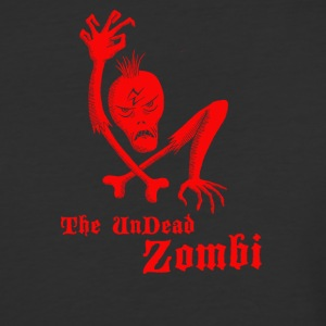 The undead zombi - Baseball T-Shirt