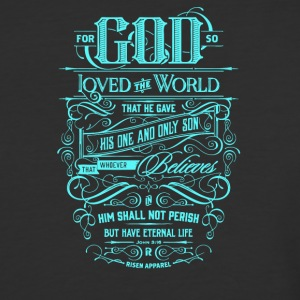 For god so loved the world - Baseball T-Shirt