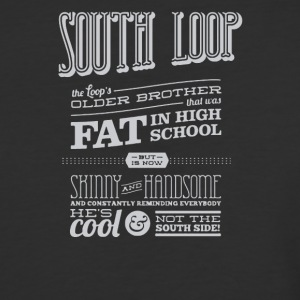 South loop fat in high school - Baseball T-Shirt
